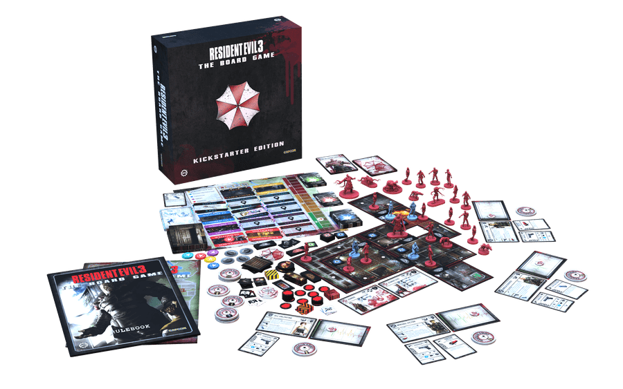 Resident Evil 3 The Board Game