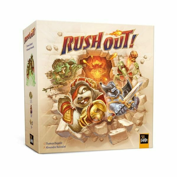 Rush Out! jeu