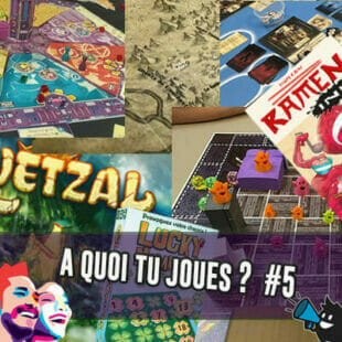 À QUOI TU JOUES ? SPÉCIAL FIJ 2020 [5] Roméo et Juliette, Genius Square, Dans les Cordes, Mystery House, Ghosted, The Loop, Arackhan Wars, What's Missing, Dragomino, Reload, Lucky Numbers, Midnight Exchange, Quetzal, Ramen Ink