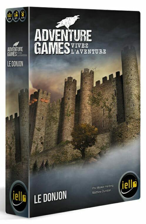 Adventure Games Le donjon-Couv-Jeu de société-Ludovox