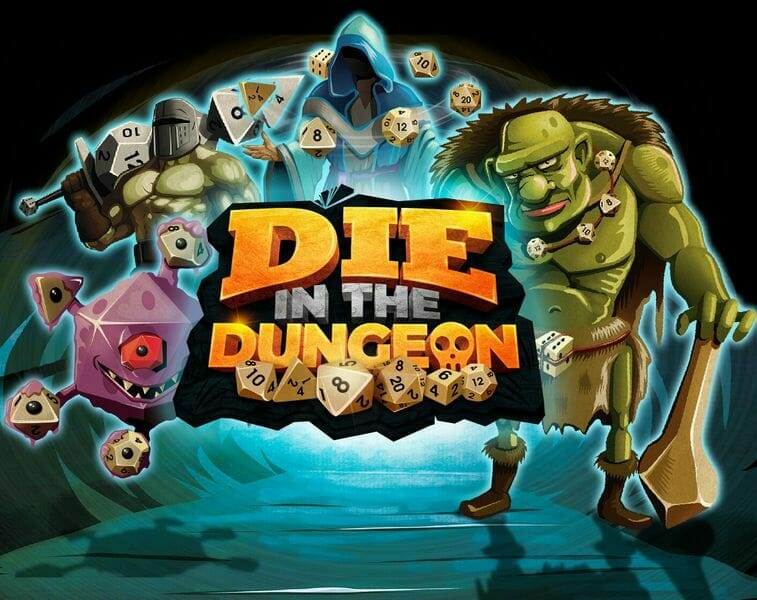 DIE in the Dungeon jeu