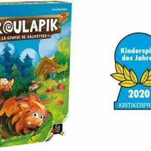 Roulapik : Kinderspiel des Jahres 2020