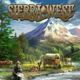 Sierra West, et au milieu coule une rivière