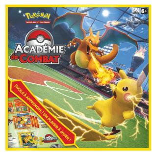 l'Académie de Combat du Jeu de Cartes à Collectionner Pokémon