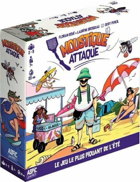 Moustique Attaque-Couv-Jeu de société-Ludovox