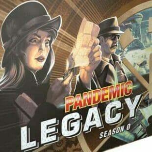 Pandemic Legacy Saison 0 : Demain ne meurt jamais