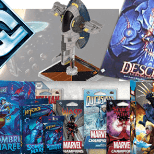 Annonces du FFG In-Flight report – Keyforge Sombres Marées, Descent: Legends of the Dark, X-Men Mutant Insurrection…