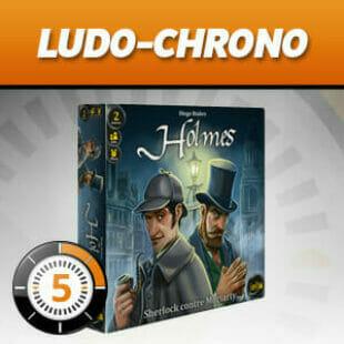 LUDOCHRONO – Holmes : Sherlock contre Moriarty