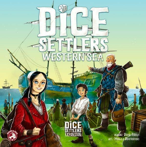 Western Sea dice settlers jeu