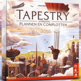 Tapestry: Plans & Ploys, première extension pour Tapestry