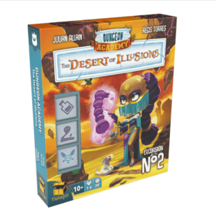 Dungeon Academy : le désert des illusions