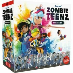 Zombie Teenz Evolution-Couv-Jeu de société-Ludovox