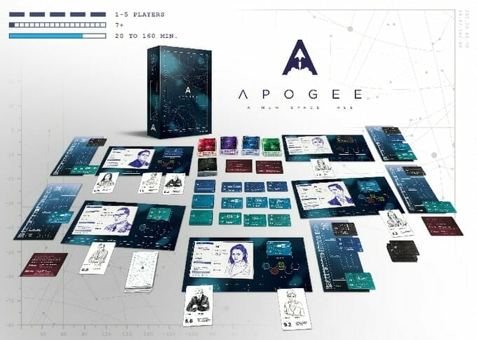 Apogee A New Space Tale materiel