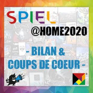 Spiel @home 2020 – Bilan & Coups de Coeur