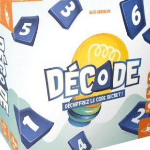 Décode, un jeu de déduction par Alex Randolph