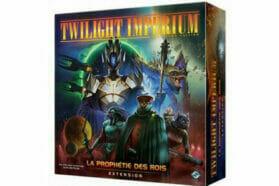 Twilight Imperium 4e Édition : Extension La Prophétie des Rois débarque