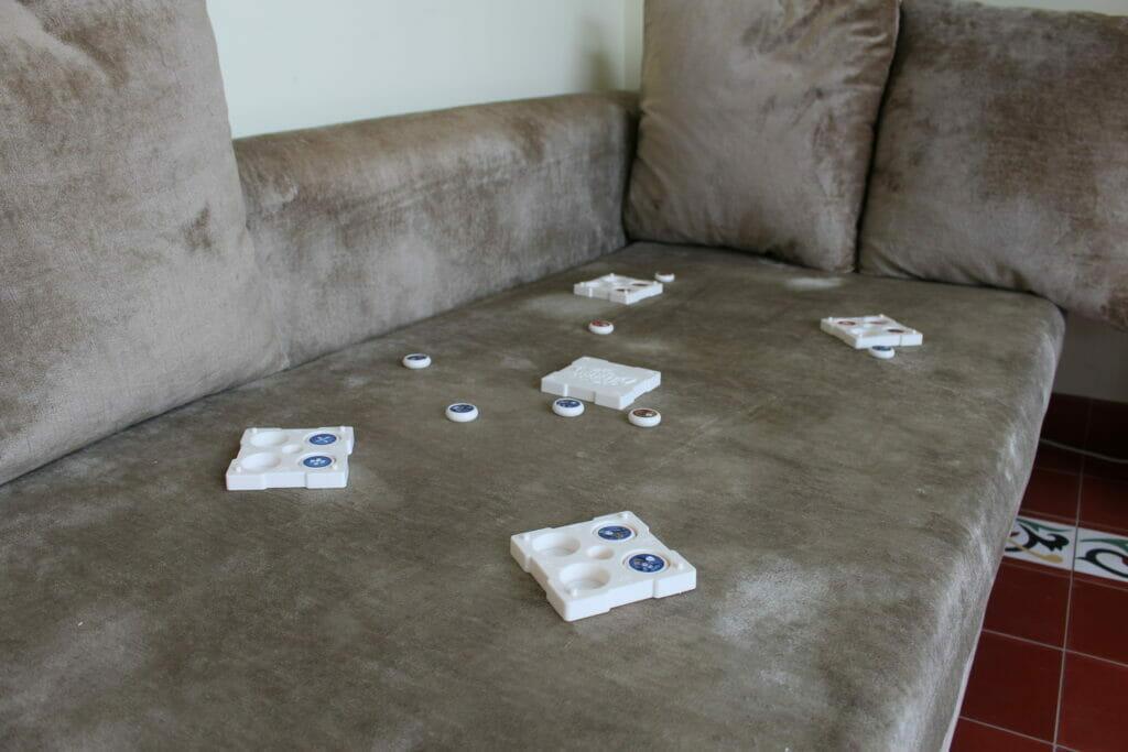 Pitch Out - jeu sur canapé