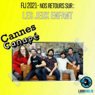 CANNES CANAPÉ – FIJ 2021 – LES JEUX ENFANTS : Fotofish, Dali le renard, Unfold kid's Quest…