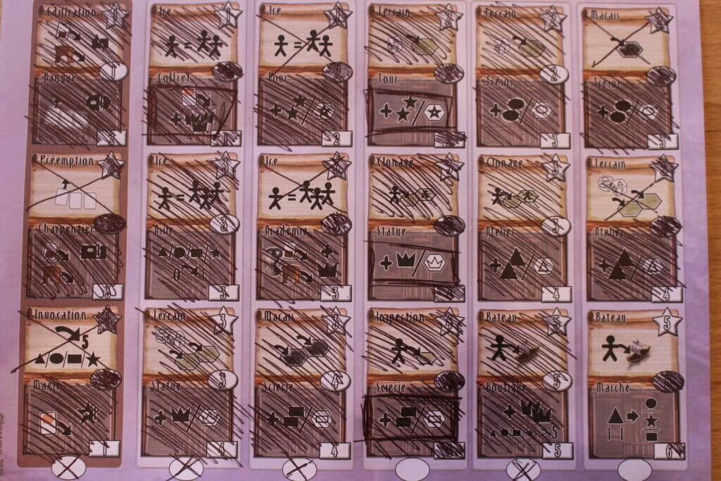 Pandoria Merchants - cartes
