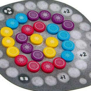 Mandala Stones : pierres qui roulent amassent des points de victoire