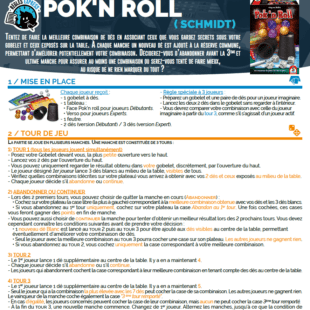 Règle express : fiche résumé Pok'n Roll