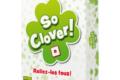 Un trèfle.Un carton. So Clover !