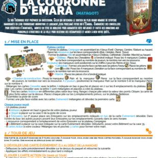 Règle express : fiche résumé La Couronne d'Emara