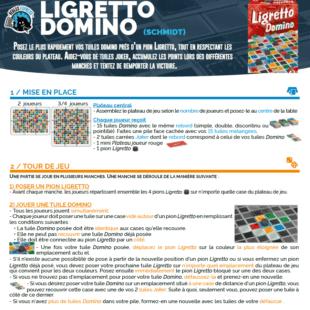 Règle express : fiche résumé Ligretto Domino
