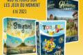 [#DLV] Les jeux du moment : Sagani – Torpedo Dice & Hallertau