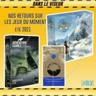 [#DLV] LES JEUX DU MOMENT : Cartaventura, Intime conviction & Adventure Games – Monochrome & Cie