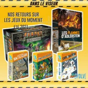 [#DLV] Les jeux du moment : Cartzzle, Les flammes d'Adlerstein Clank! Legacy